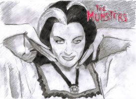 The Munsters  - Lily Munster by astrozombie1313