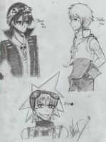 Soul Eater Doods 8D by SoBeShinigami