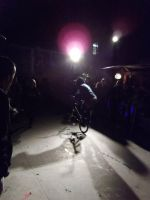 bike show in hiphop disco by AnnarXy