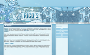 Rico's Layout by littleplasticrose