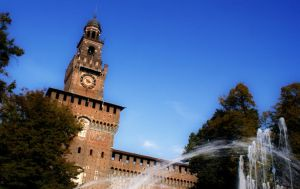 Sforzesco Castle by Auramyu