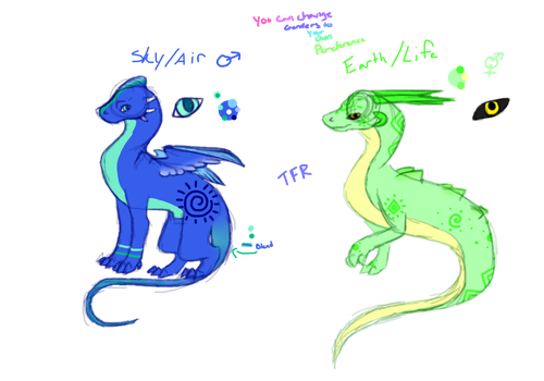 Dragon Adopts (Open!) by Twoface-the-Rogue