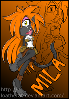 Mila The Tamarin by LoaTheRat