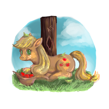 Some Apples In My Hat by SharSharX