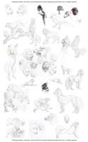 Rather Woolly Sketchpile by pallanoph