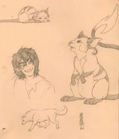 Thar be sketches by MelvisMD