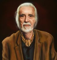 RIP Christopher Lee by archemmy