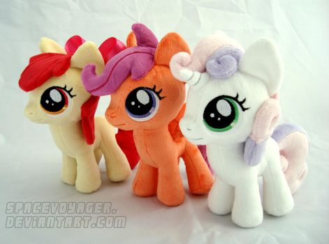 Cutie Mark Crusaders by PlanetPlush