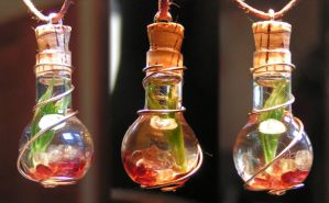 Magic Vial - Fire, again by Izile