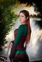 Tauriel from The Hobbit: The Desolation Of Smaug by EstelaVampyra