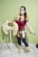 Astrid cosplay WIP by Nao-Dignity