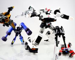 TFMP - Prowl VS Soundwave's Minions by Tformer