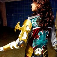 Cosplay : Vayne Back Details by burloire