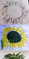 Sunflower - experiment :3 by Patty1234