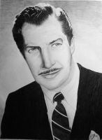 Vincent Price Portrait by M-Infernum