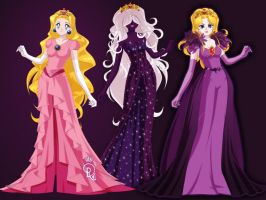 Peach: Queen of Shadows by Angel-of-Light91