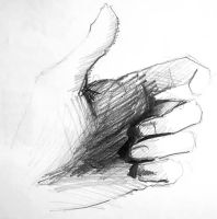 My hand 2 by Polyesterday