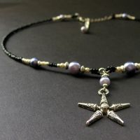 Mystic's Star Choker by Gilliauna