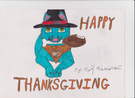 Happy Thanksgiving by wolfwarrior001