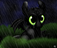 Toothless by LupiArts