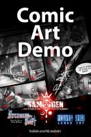 Comic Art - demo at 8pm(pst) by dinmoney