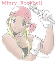 Winry-Colored by inuyashasno1girl