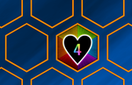 Hexagon Heart by DiggerShrew