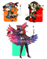 Circus Fr3aks- AUCTIONS CLOSED by Cate-adoptables