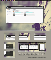 Matatwo Theme For Windows 8/8.1 by Cleodesktop