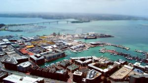 The Docks Tilt-Shift by GoalIsSoulGuitarist