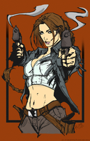 Lady Croft by RikuForsman