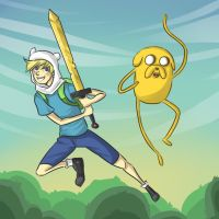 Adventure Time by cinash
