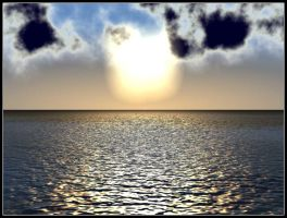 Water v2 - Setting Sun by illused
