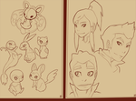 pokemon and legend of korra fan picz by phation