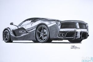 Ferrari Laferrari Finished by SD1-art
