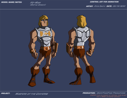 AP Battle Armor He-Man by KrisSmithDW