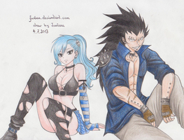 let's rock (Juvia and Gajeel) by Juviaaa