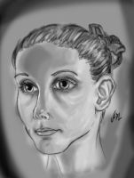 woman face by 71ADL17