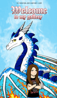 Me and my dragon by RitaRaven