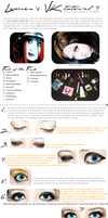 VISUAL KEI make-up TUTORIAL 4 by drag-my-soul