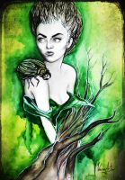 the green fairy by VeroNArt