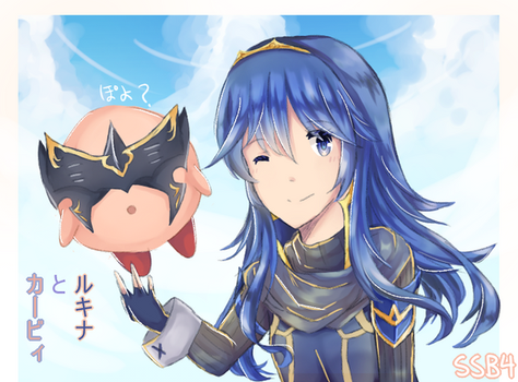 Lucina And Kirby by jian57