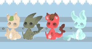 Gummi Shark Puppies Customs .:Closed:. by Pieology