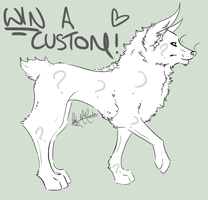 Win A Custom Adoptable: CLOSED by MissyAdopts