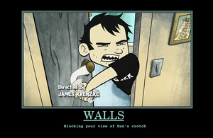 Dang Walls by Glub-a-Glub