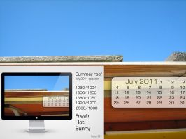 Summer roof calendar by VanyaRAY