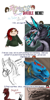 Double meme derps by DemonML