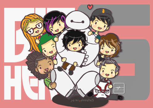 Big Hero 6 by jeinirelova