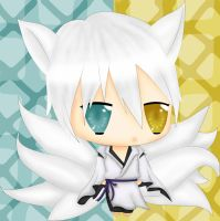 Soushi Miketsukami the nine tailed fox by nightwing6497