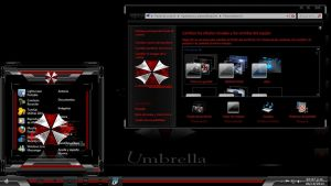 Umbrella Custons W7 By TheMasterDesing by TheMasterDesing